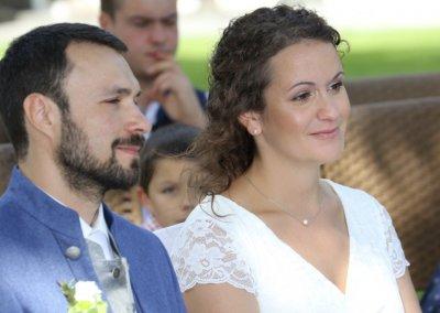 Braut Melanie